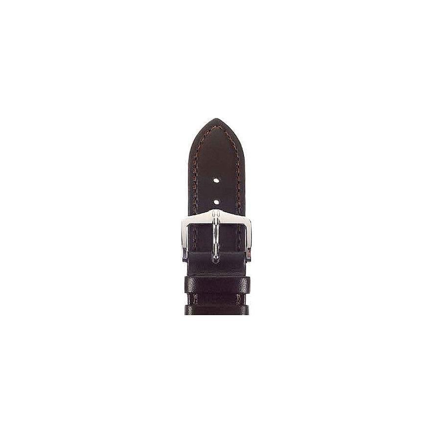 Hirsch Uhrenarmband Leder Merino 01206010220
