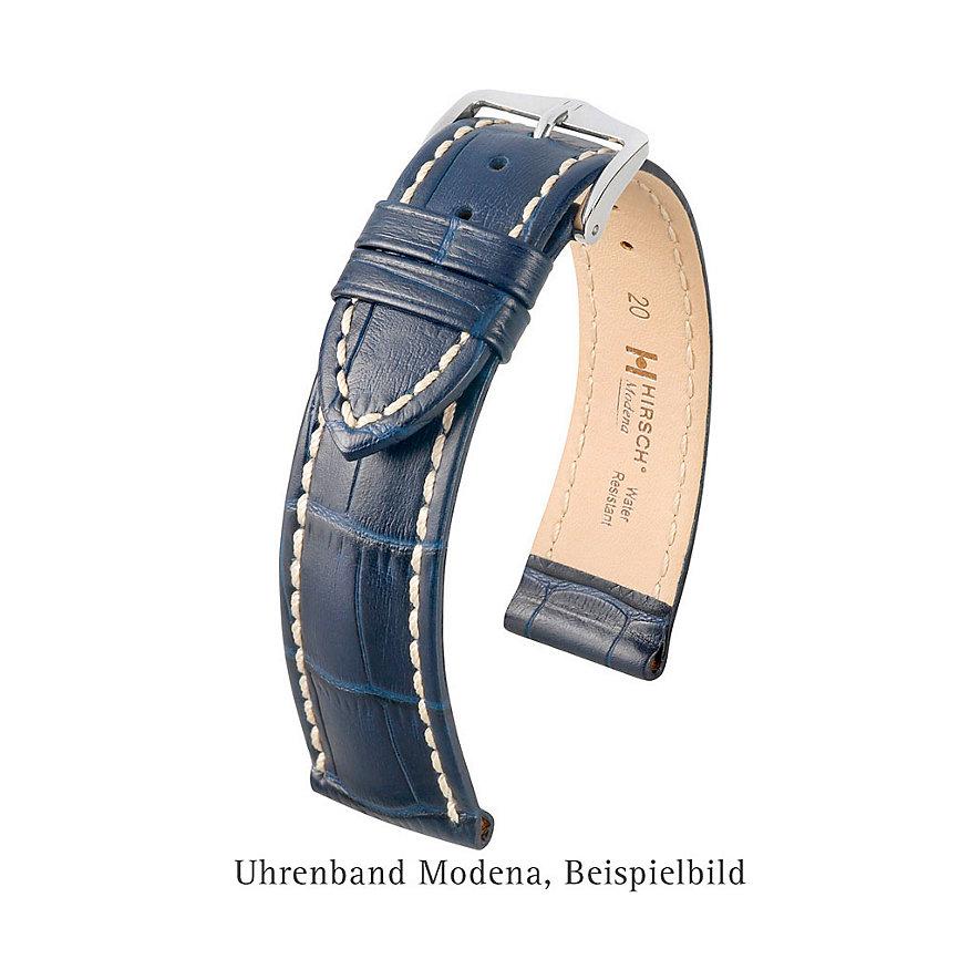 Hirsch Uhrenarmband Leder Modena 10302850219