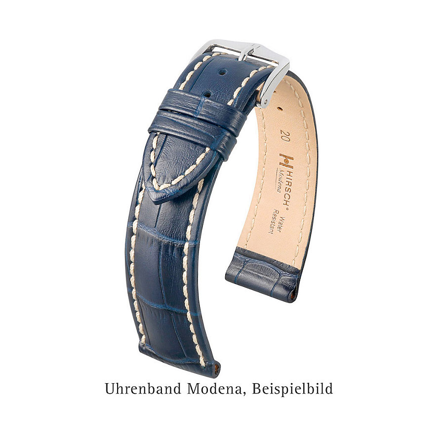 Hirsch Uhrenarmband Leder Modena 10302870222