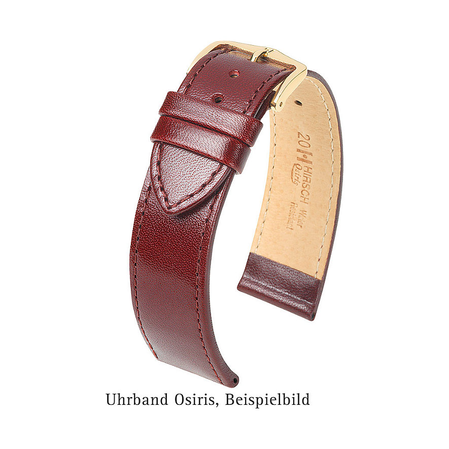 Hirsch Uhrenarmband Leder Osiris 03475080-2-18