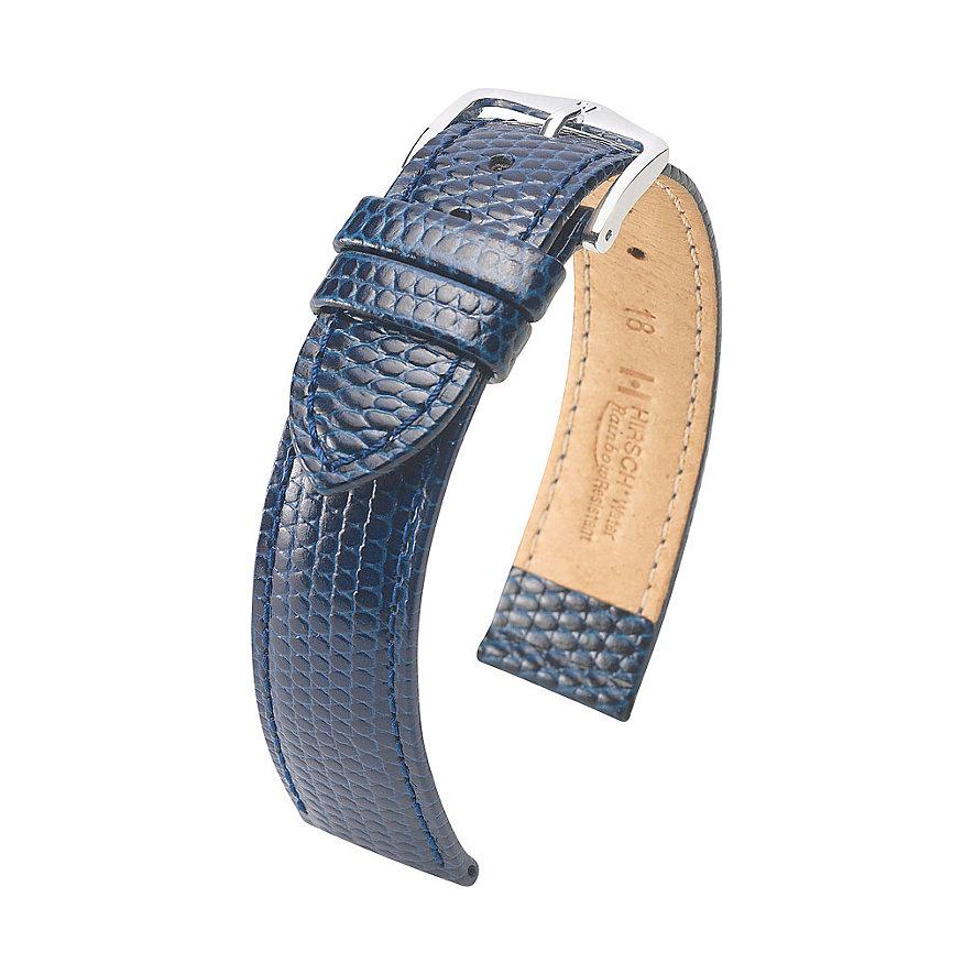 Hirsch Uhrenarmband Leder Rainbow 12302680214