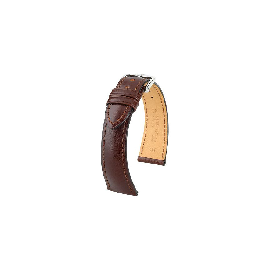 Hirsch Uhrenarmband Leder Siena 04202010220