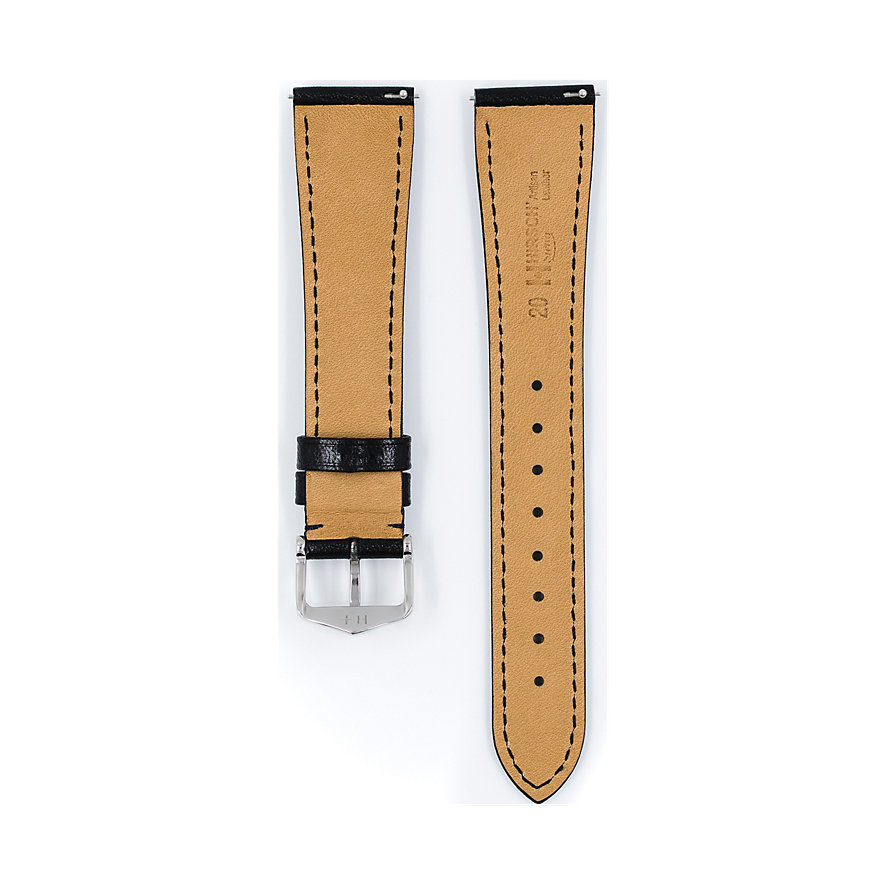 Hirsch Uhrenarmband Leder Siena 04202050220