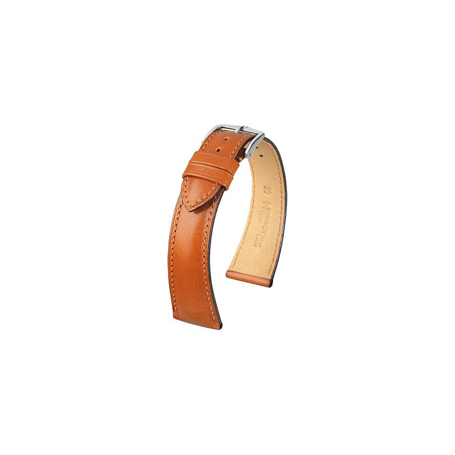 Hirsch Uhrenarmband Leder Siena 04202070220