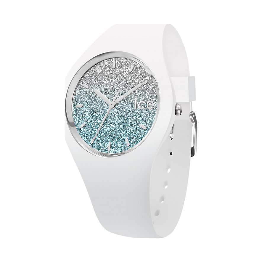 Ice-Watch Damenuhr lo White Blue 013429
