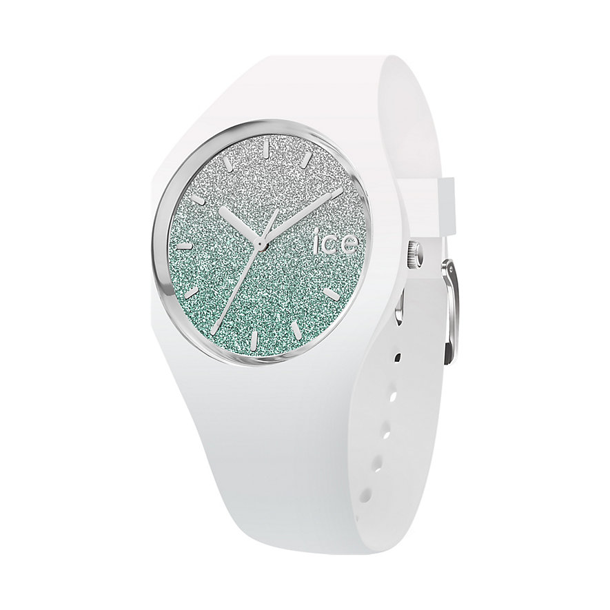 Ice-Watch Damenuhr lo White Turquoise ICE 013426