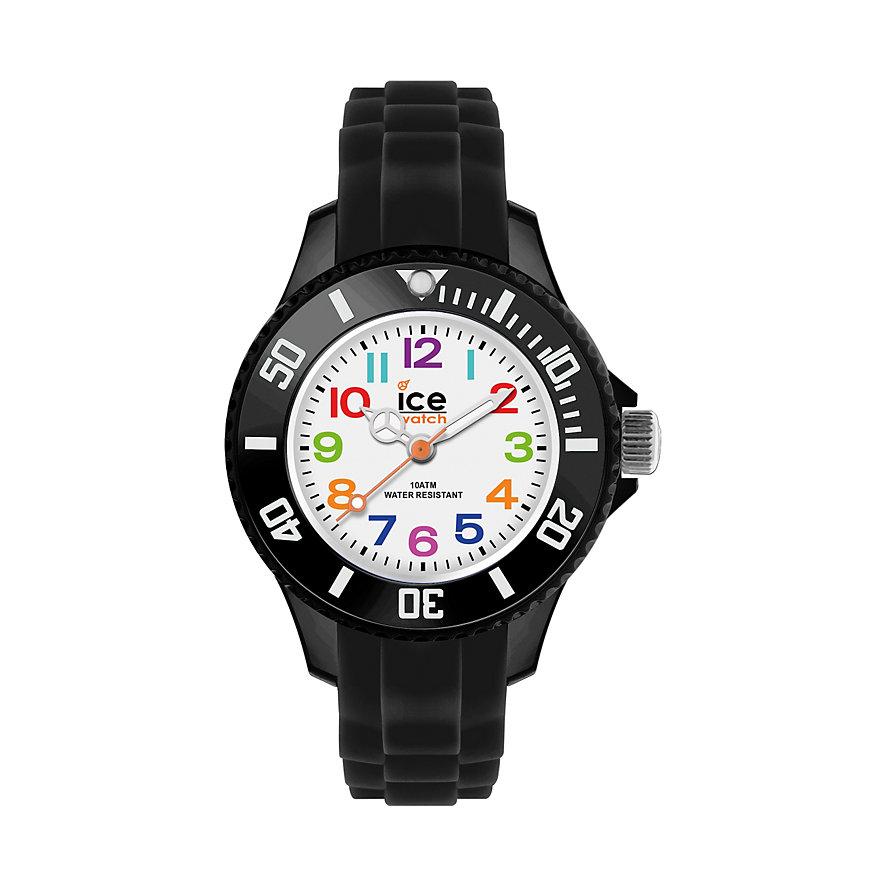 Ice-Watch Kinderuhr Ice-mini schwarz  MN.BK.M.S.12