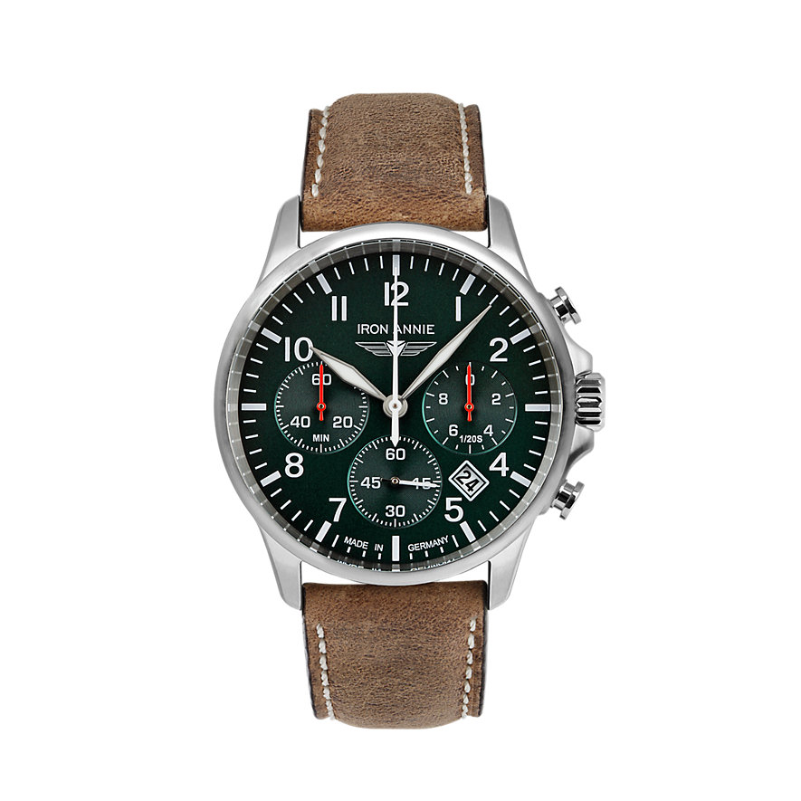 Iron Annie Chronograph Captains Line 5872-4