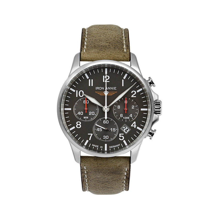 Iron Annie Chronograph Captains Line 5872-5