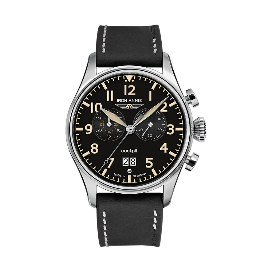 Iron Annie Chronograph Flight Control 5186-2