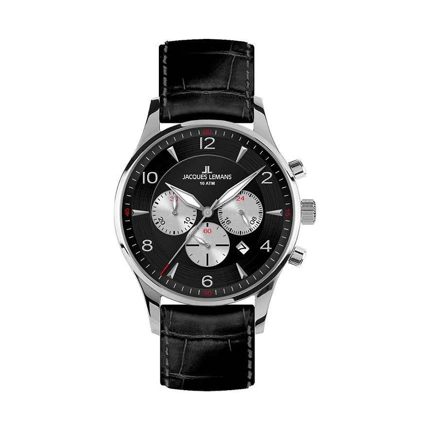 JACQUES LEMANS Chronograph London 1-1654A