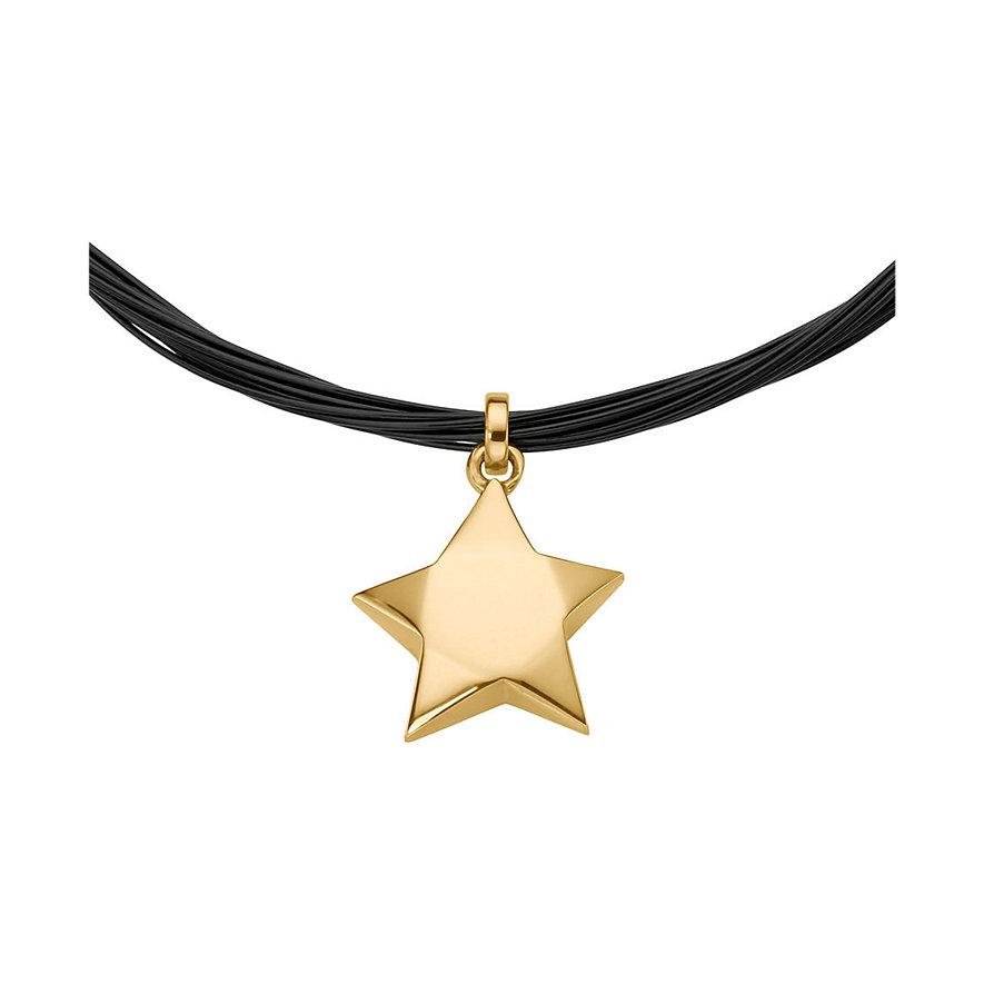 JETTE Gold Halsreif mit Stern 85847171