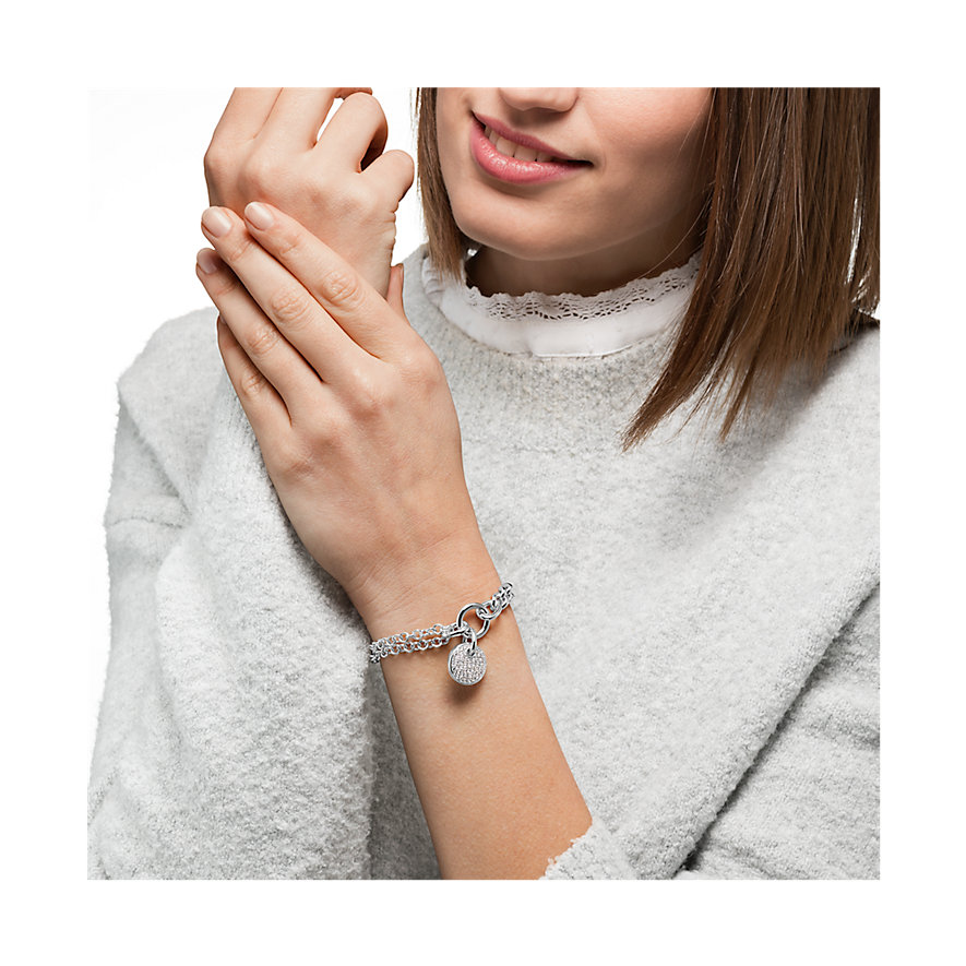 JETTE Silver Armband 86624486