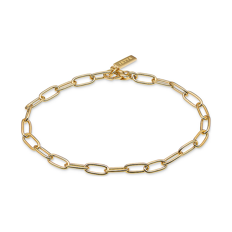 JETTE Silver Armband Lucky Charm