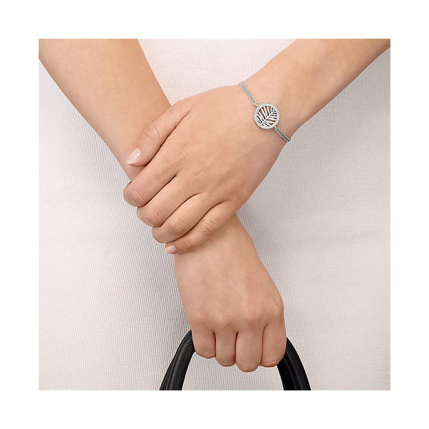 JETTE Silver Armband Tropical Heat