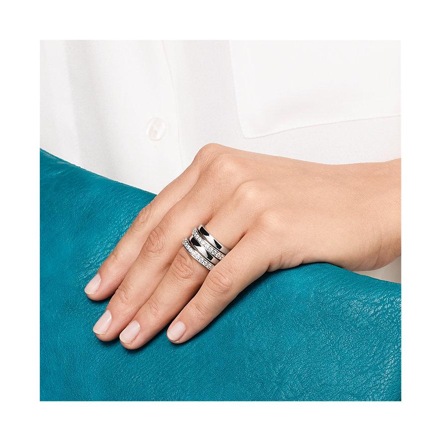 JETTE Silver FLOW Damenring 60056358