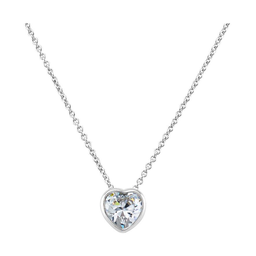 JETTE Silver Kette Heart