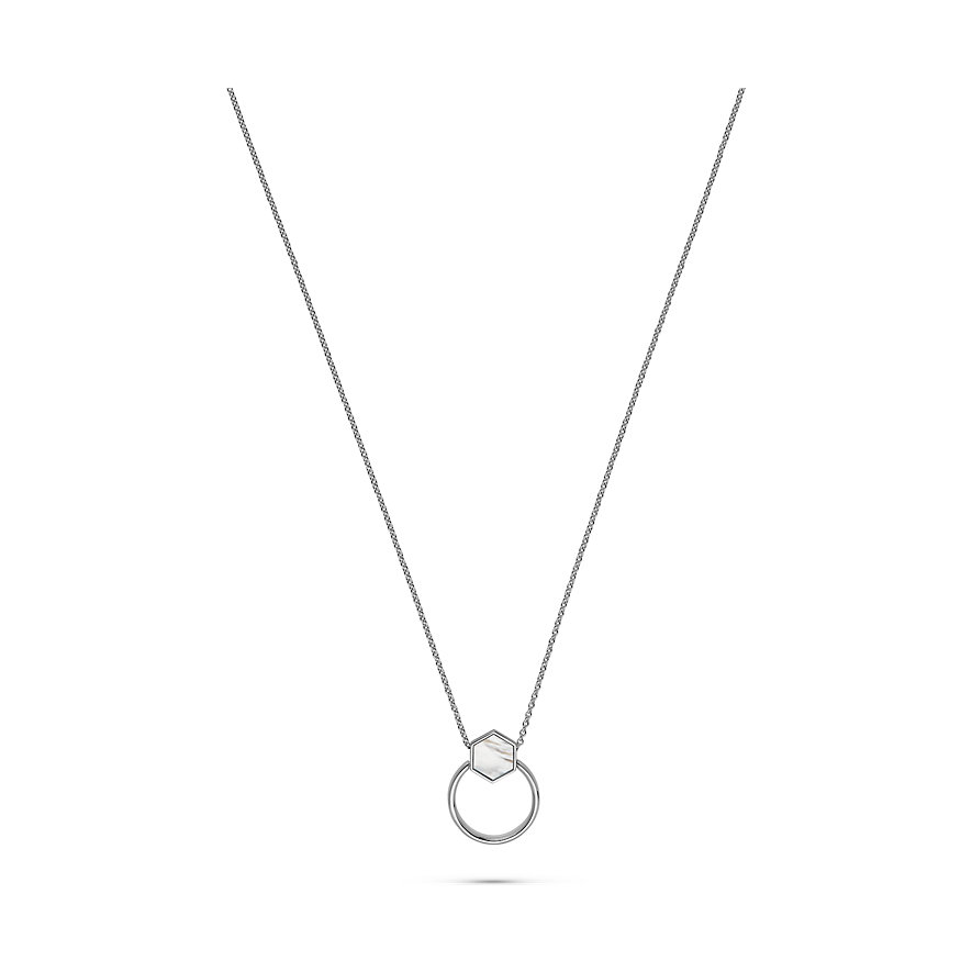 JETTE Silver Kette Lucky Charm