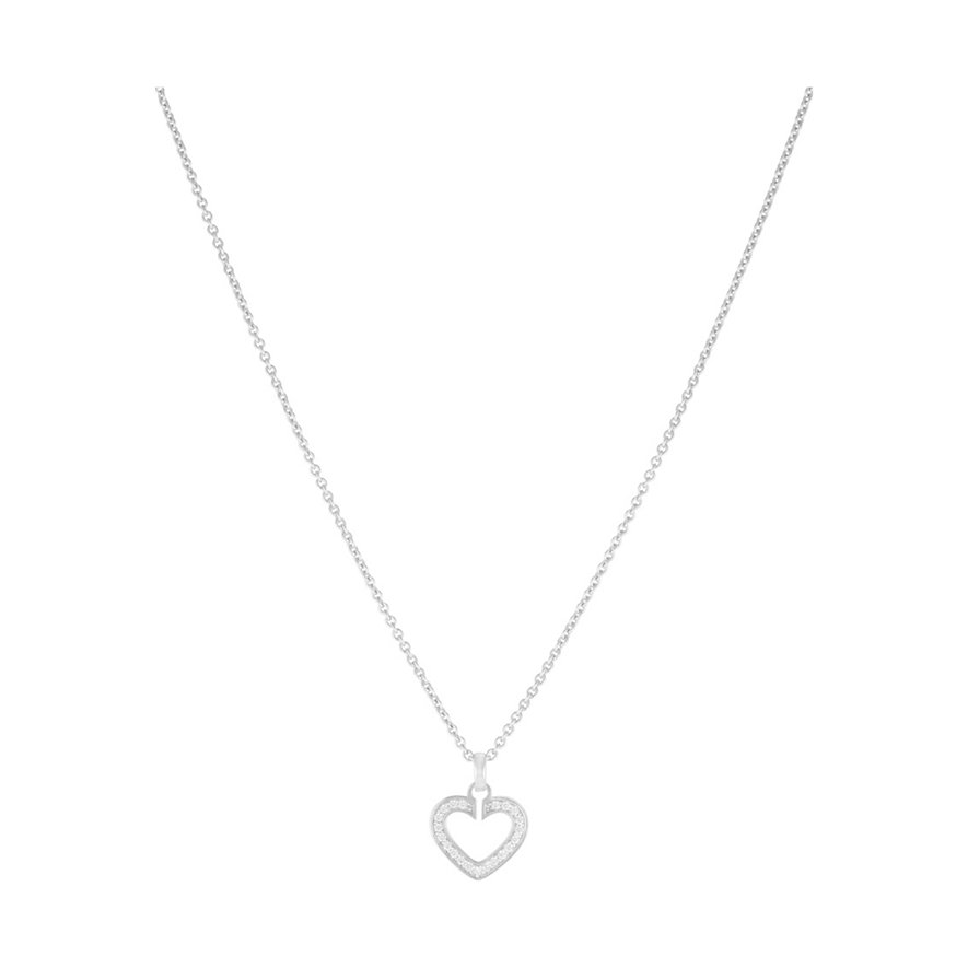 JETTE Silver SACRED HEART Kette 86110636