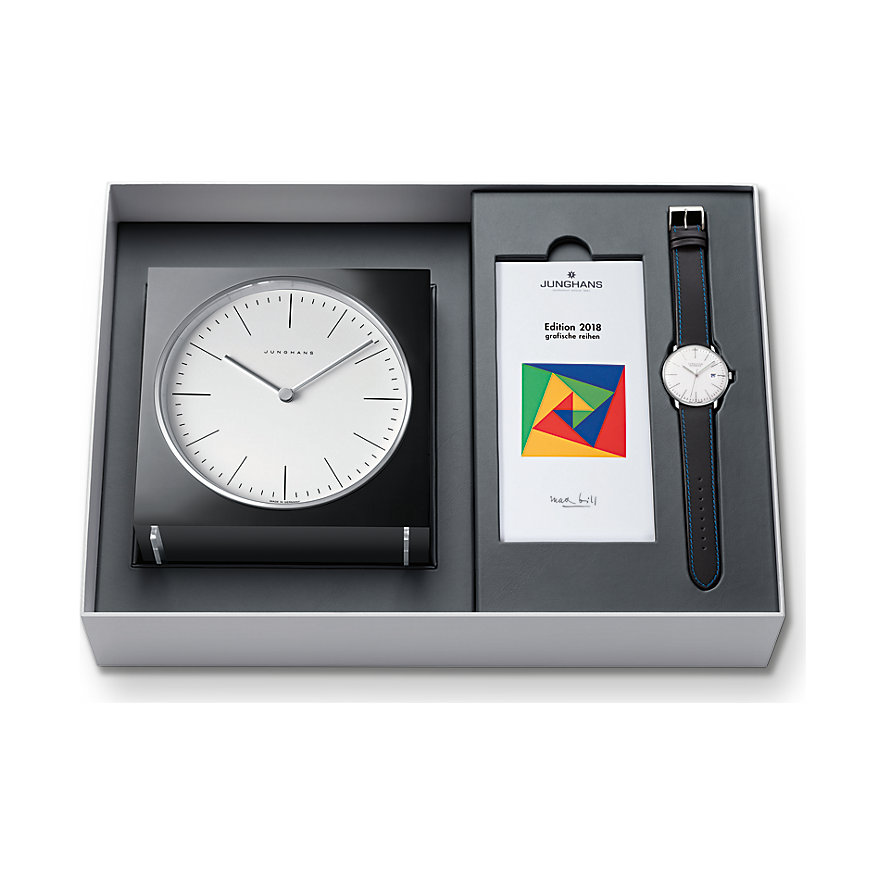 Junghans Herrenuhr Max Bill Edition Set 363281600