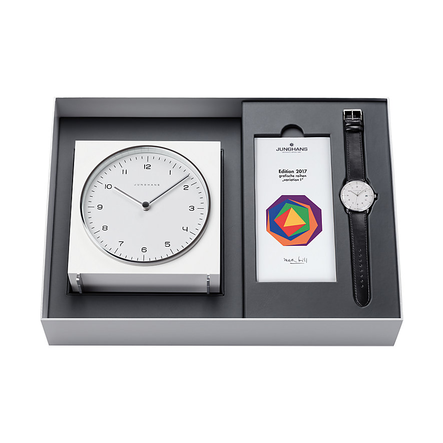 Junghans Uhrenset Max Bill Limited Edition 363/2715.00