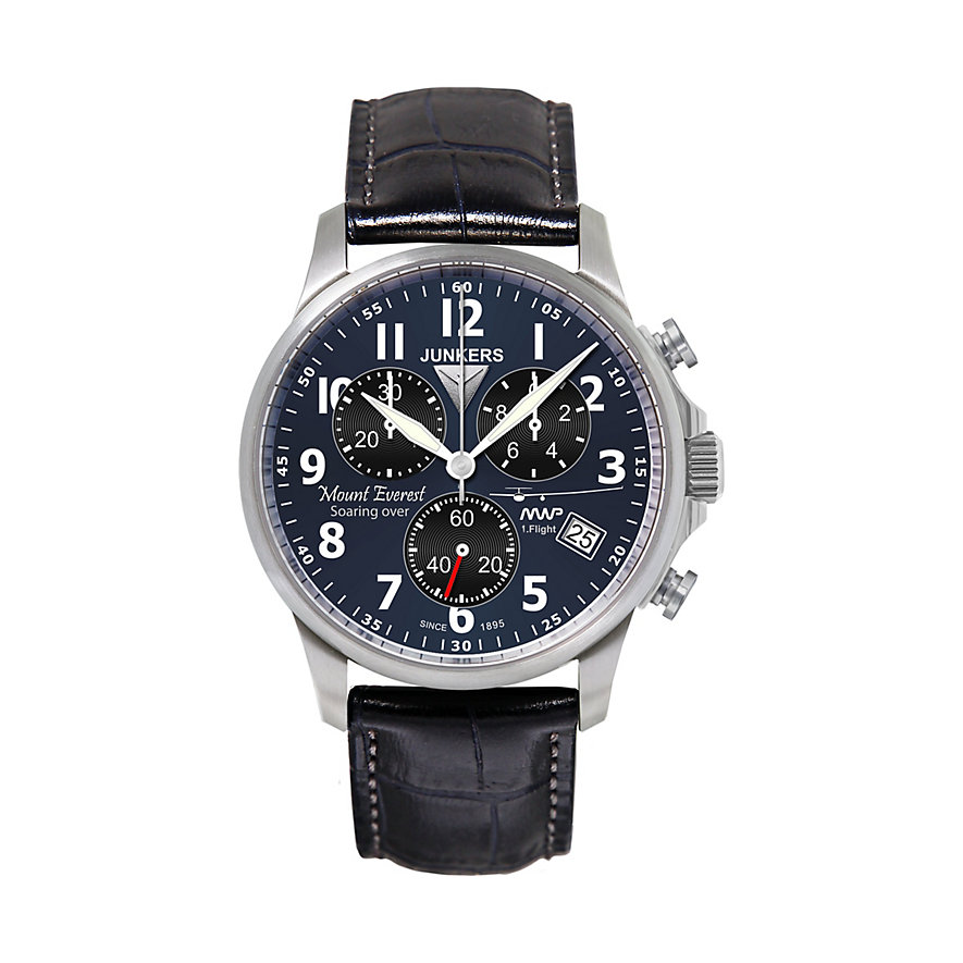 Junkers Chronograph Mountain Wave Project 6894-3 6894-3
