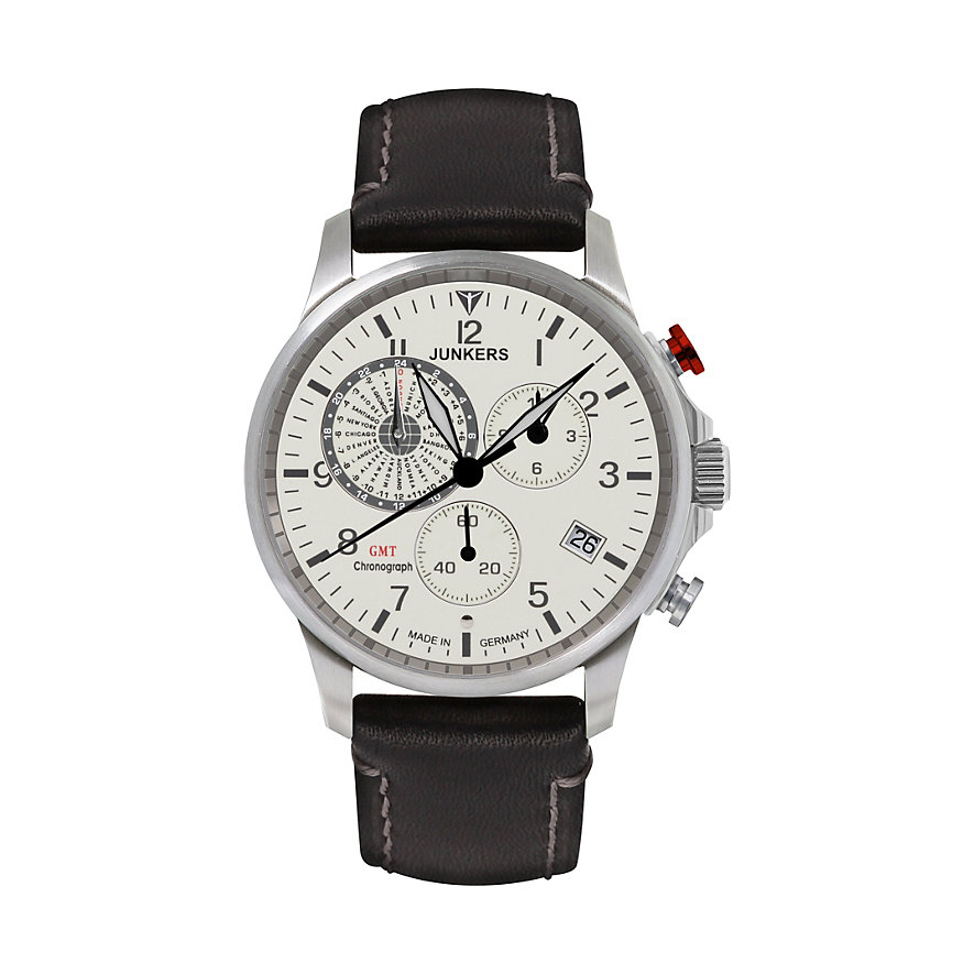 Junkers Chronograph Worldtimer 6892-5