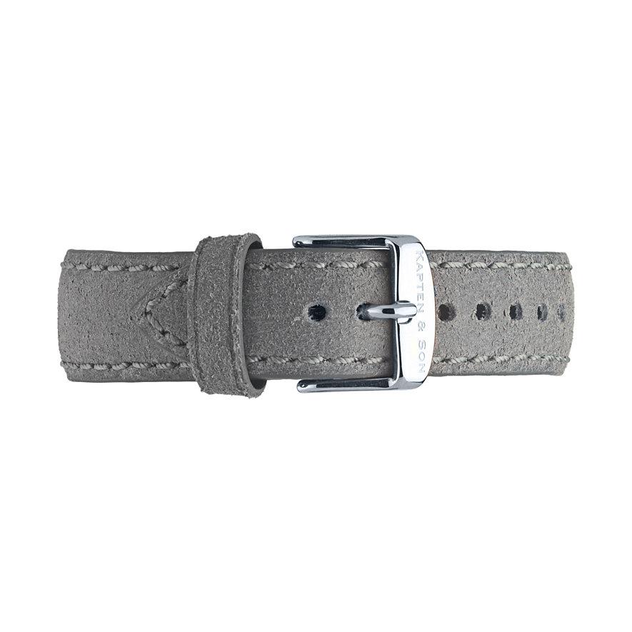 Kapten & Son Lederband Grey Vintage BC03A0302F11A