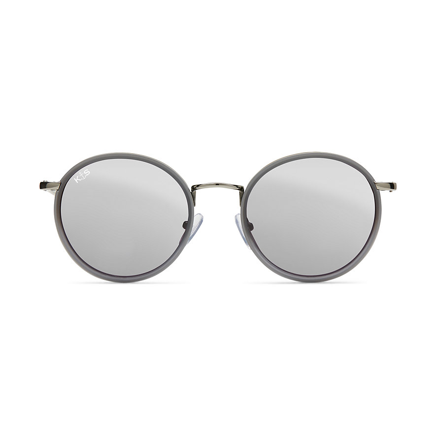 Kapten & Son Sonnenbrille Amsterdam All Grey Mirrored KS11-GG-SS