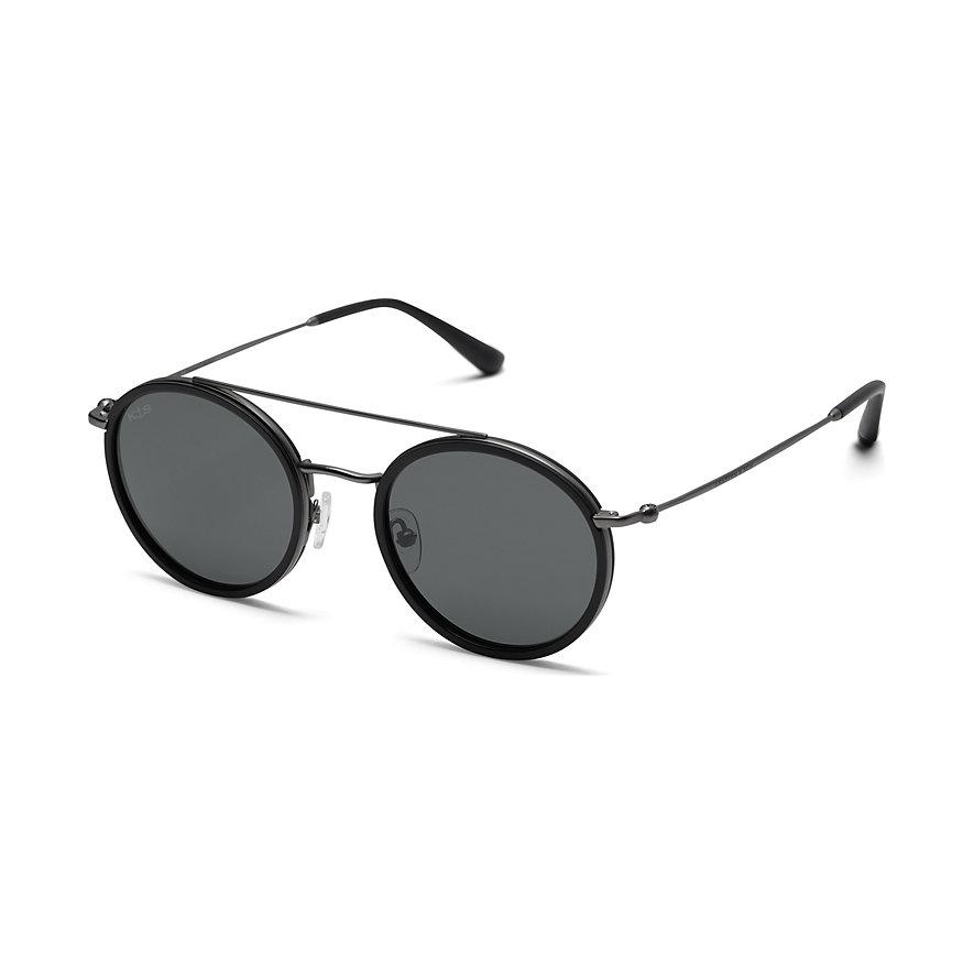 Kapten & Son Sonnenbrille Bali Matt Black Silver Black DL01V0700A12B