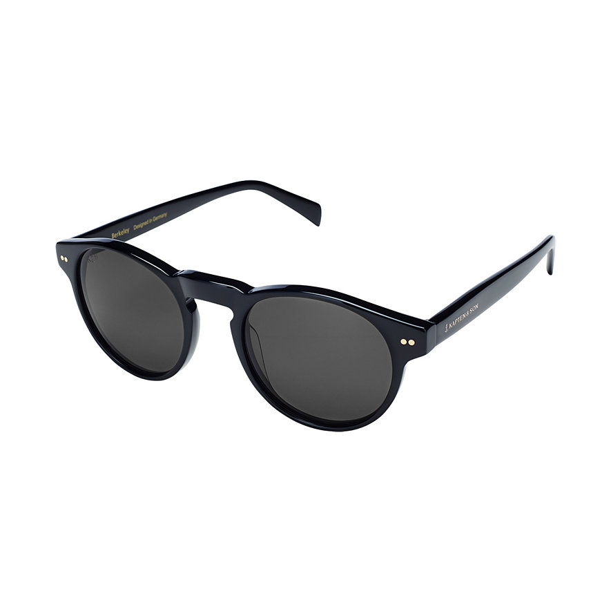 Kapten & Son Sonnenbrille Berkeley Gloss All Black KS07-BKG-BK