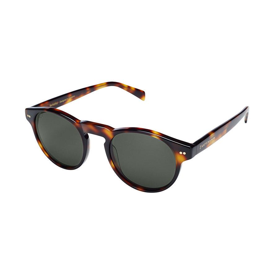 Kapten & Son Sonnenbrille Berkeley Gloss Light Tortoise Green KS07-LTG-GN
