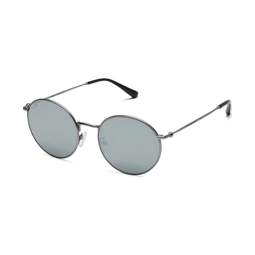 Kapten & Son Sonnenbrille London Silver Grey Mirrored DM99S0800A12C