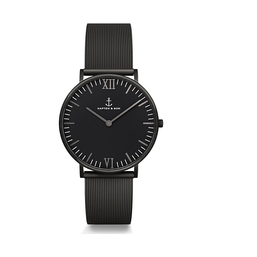 kapten-son-uhr-campina-black-midnight-mesh