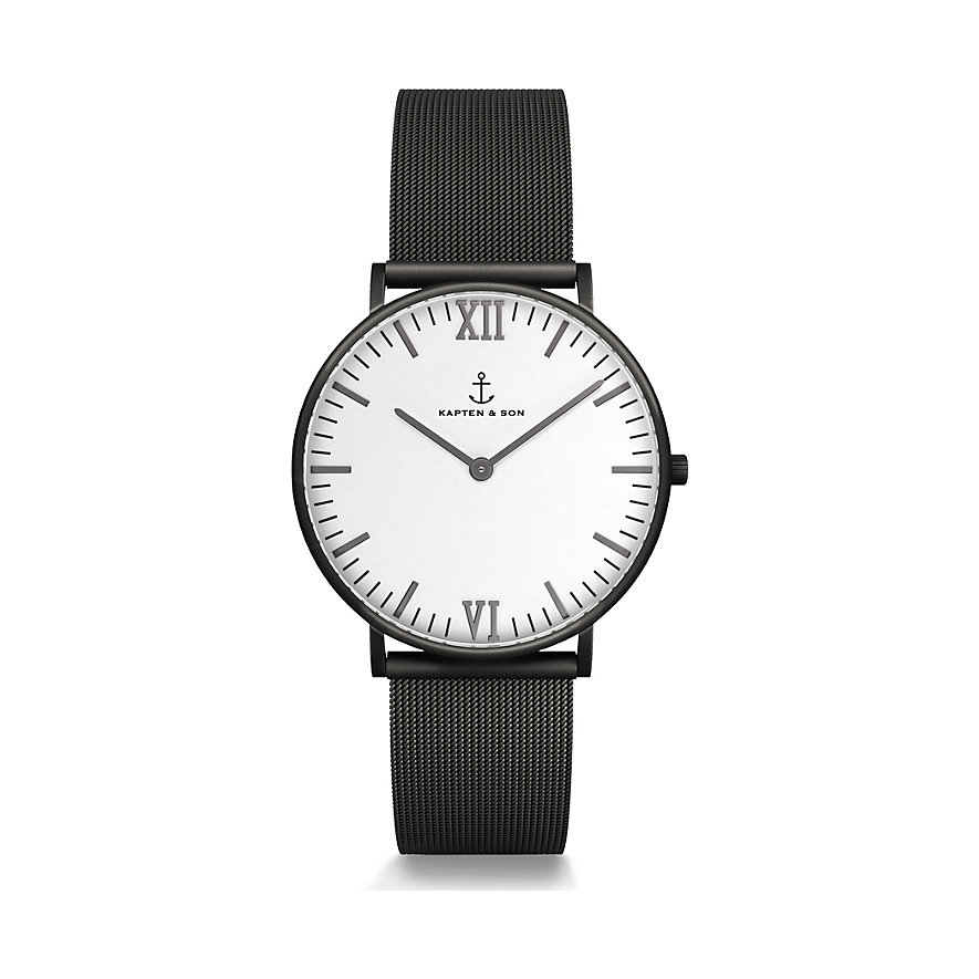 kapten-son-uhr-campus-midnight-mesh