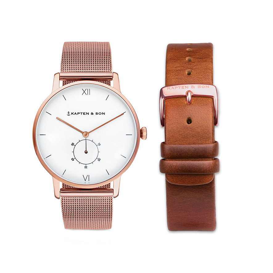 kapten-son-uhr-uheritage-mesh-brown-hc00a0102a02a