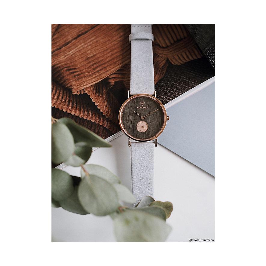 Kerbholz Damenuhr Frida Darkwood Artic WATMFRI0135