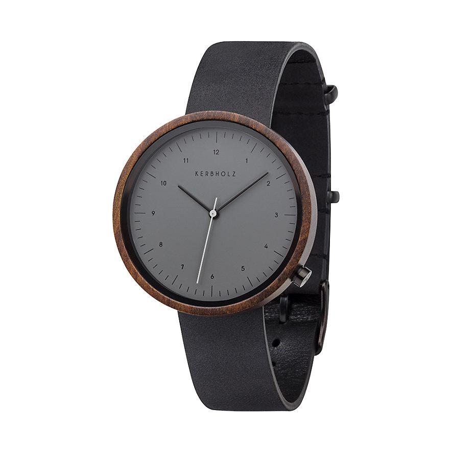 Kerbholz Uhr Heinrich Sandalwood WATWHEI2536