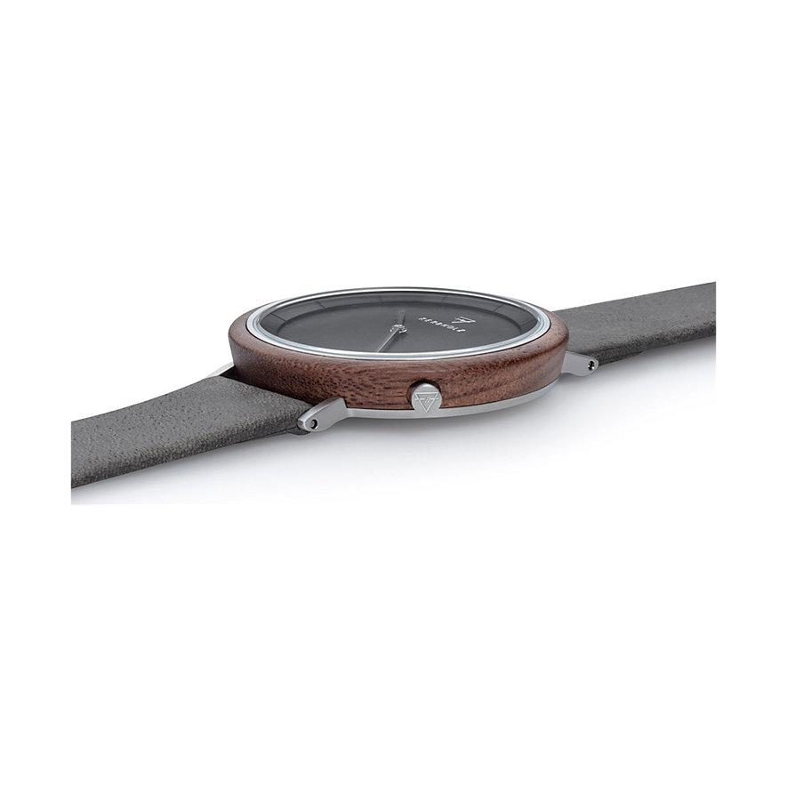 Kerbholz Unisexuhr Slim Modern Walnut WATWSLI7418