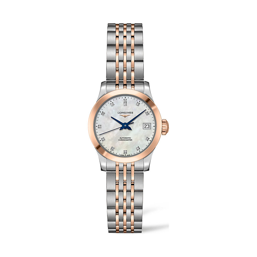Longines Damenuhr Record L23205877