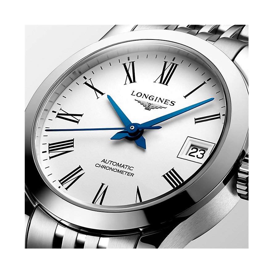 Longines Damenuhr Watchmaking Tradition Record Collection L23204116