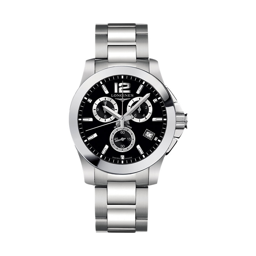 Longines Herrenchronograph Conquest Chrono L36604566