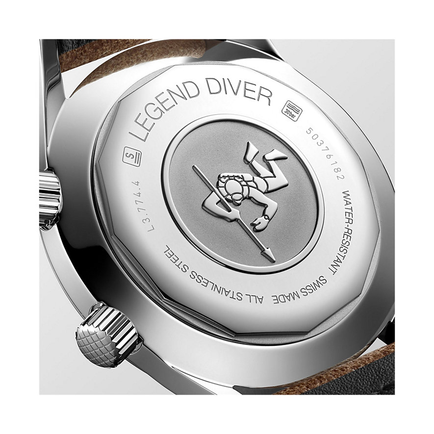 Longines Herrenuhr Diving The Longines Legend Diver Watch L37744602