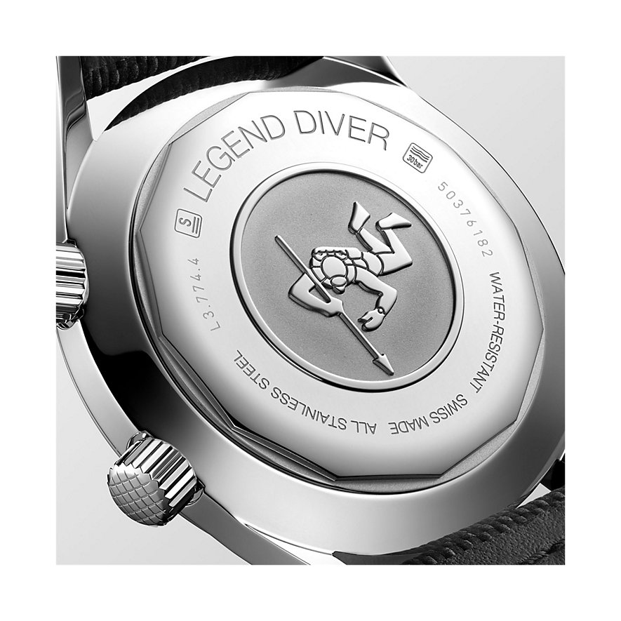 Longines Herrenuhr Diving The Longines Legend Diver Watch L37744902