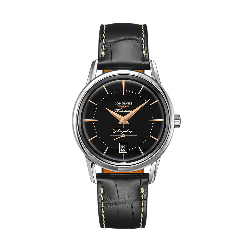 Longines Herrenuhr Watchmaking Tradition Flagship Heritage L47954580