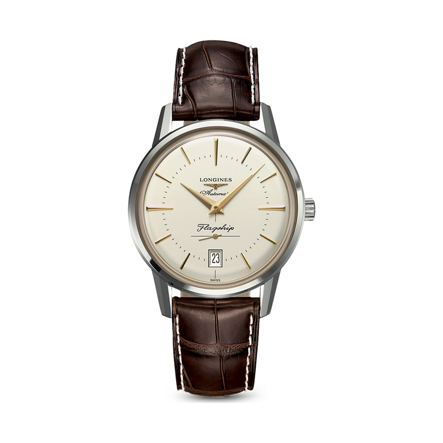 Longines Herrenuhr Watchmaking Tradition Flagship Heritage L47954782