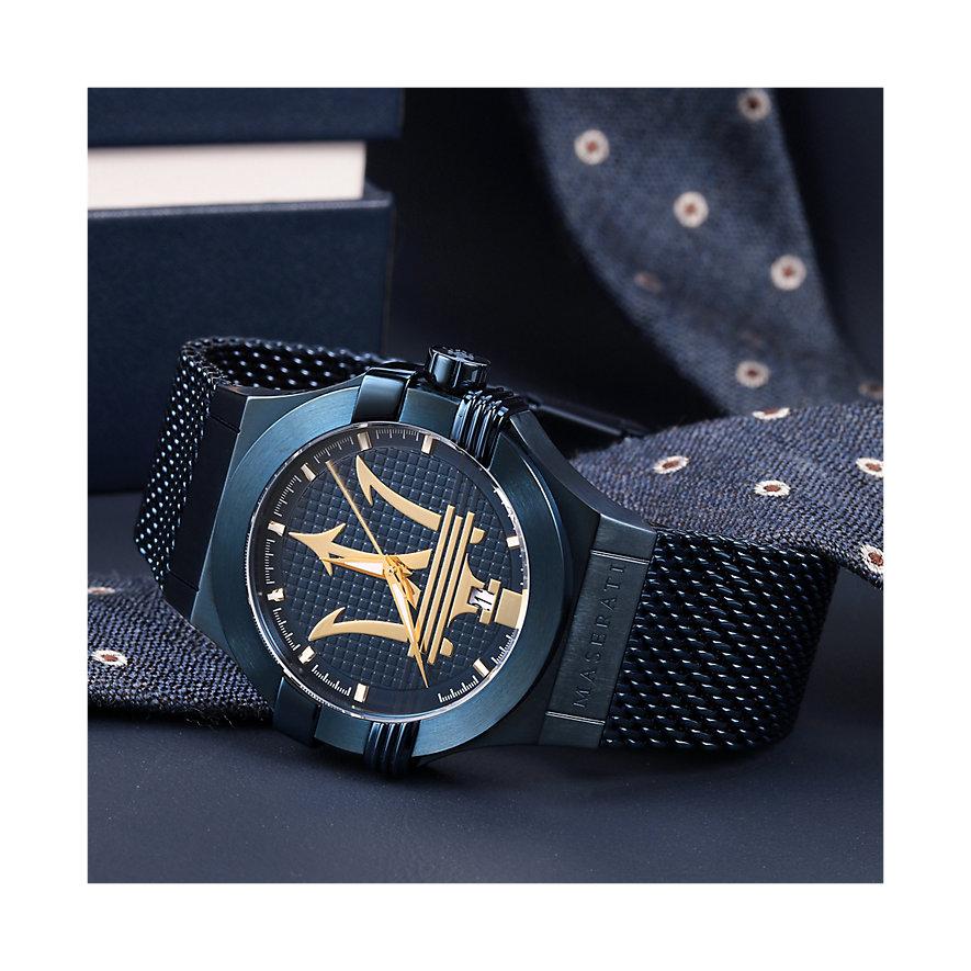 Maserati Herrenuhr Blue R8853108008