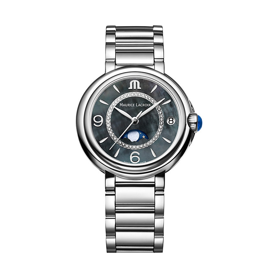 Maurice Lacroix Damenuhr Fiaba Date Moonphase FA1084-SS002-370-1