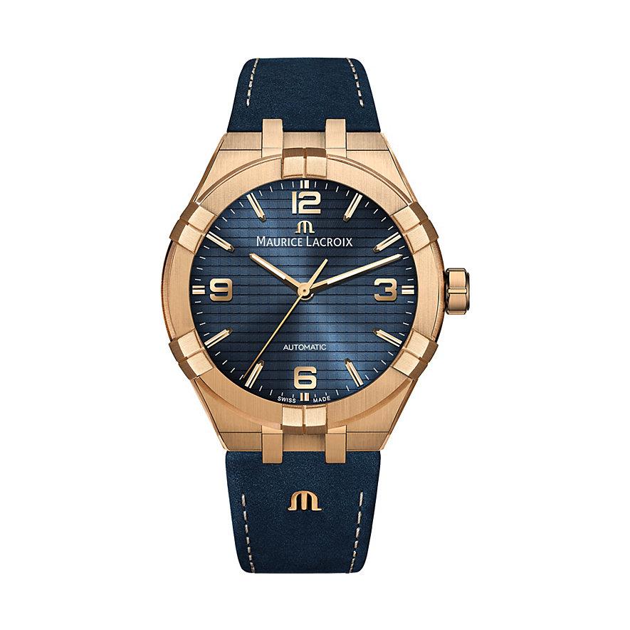 Maurice Lacroix Herrenuhr Aikon Automatic Bronze AI6008-BRZ01-420-1