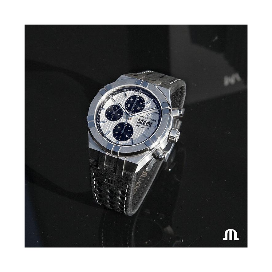 Maurice Lacroix Herrenuhr Aikon Chronograph AI6038-SS001-132-1